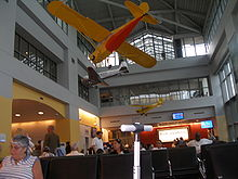 hpn airport waiting area