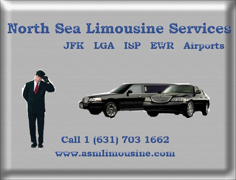 North Sea Limousine and Town car service JFK, LGA, ISP, EWR Airports