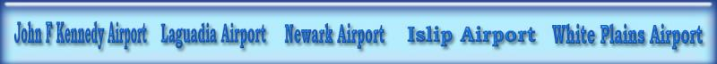 JFK, LGA, EWR Airport Tranfers from or to HPN airport