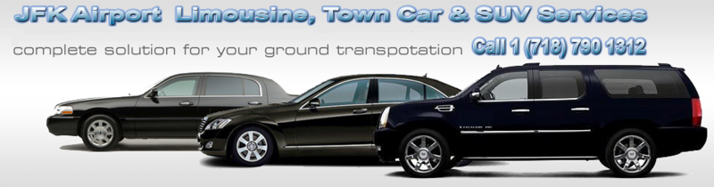 jfk airport limousine, suv, town car