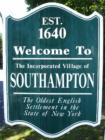 welcome to southampton sign